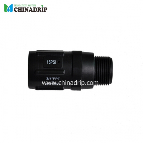 pressure reducer with pipe thread 3/4