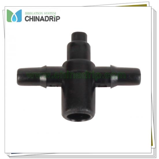 arrow dripper distribution manifold with 2 outlet ID4mm